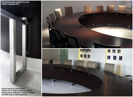 Office-O detale stołu