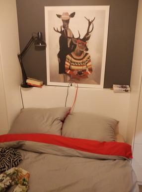 Interior-B sypialnia
