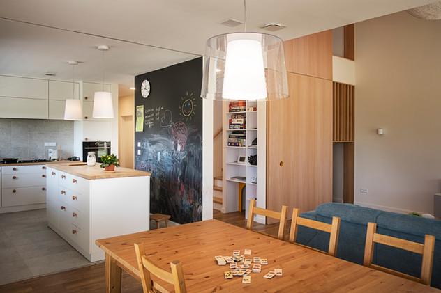 Interior-W kuchnia i jadalnia