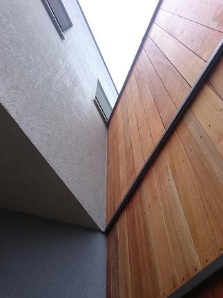 House-T podcień wejścia