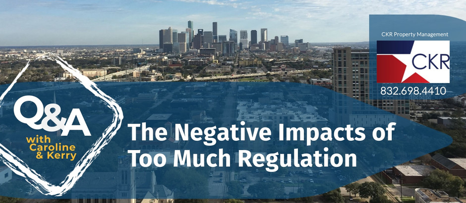 The Negative Impacts of Too Much Regulation