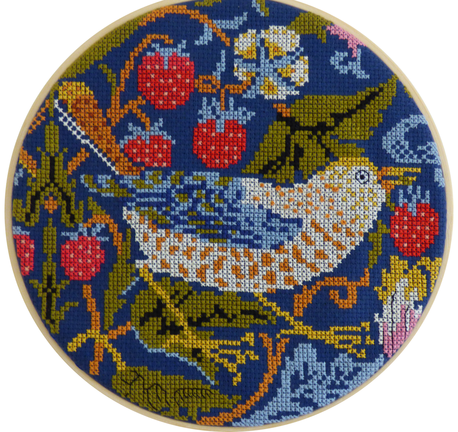 The Strawberry Thief, by William Morris