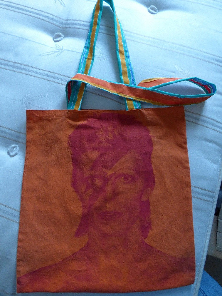 New handles for the Bowie bag