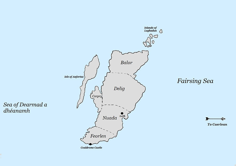 Map of Brythonia