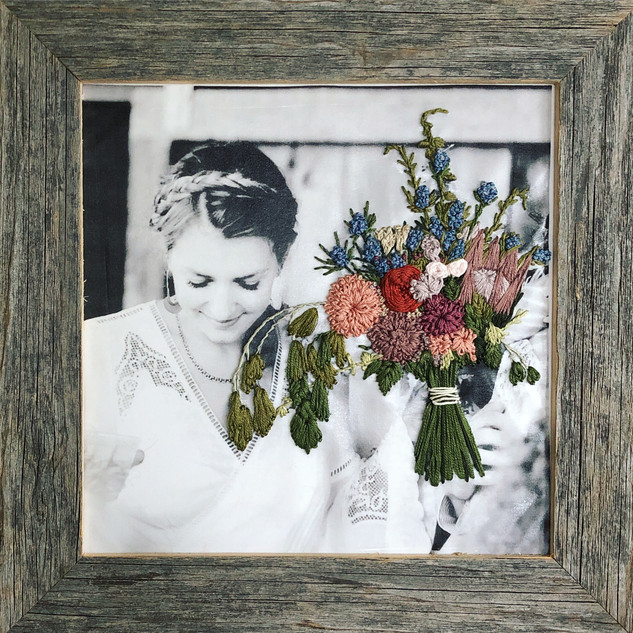 Custom Wedding Embroidery