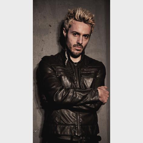 James Kennedy, Singer, Songwriter, Producer, Kyshera, Konic Records,  UK, Wales, music, rock, band, alternative, leather, blond, bleach,
