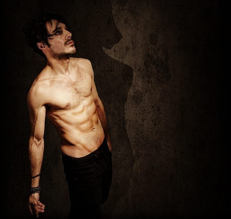James Kennedy, Singer, Songwriter, Producer, Kyshera, Konic Records,  UK, Wales, music, rock, band, alternative, topless, abs, emo, body,
