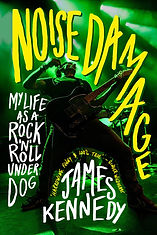James Kennedy - Noise Damage book cover.