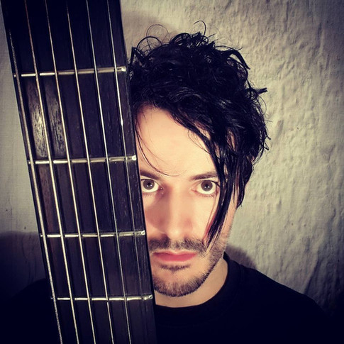 James Kennedy, Singer, Songwriter, Producer, Kyshera, Konic Records,  UK, Wales, music, rock, band, alternative, side fringe, hair, solo, acoustic, guitar