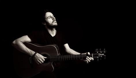 James Kennedy, Singer, Songwriter, Producer, Kyshera, Konic Records,  UK, Wales, music, rock, band, alternative, takamine, acoustic, guitar
