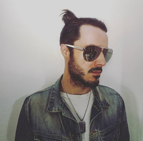 James Kennedy, Singer, Songwriter, Producer, Kyshera, Konic Records,  UK, Wales, music, rock, band, alternative, manbun, hair, sunglasses