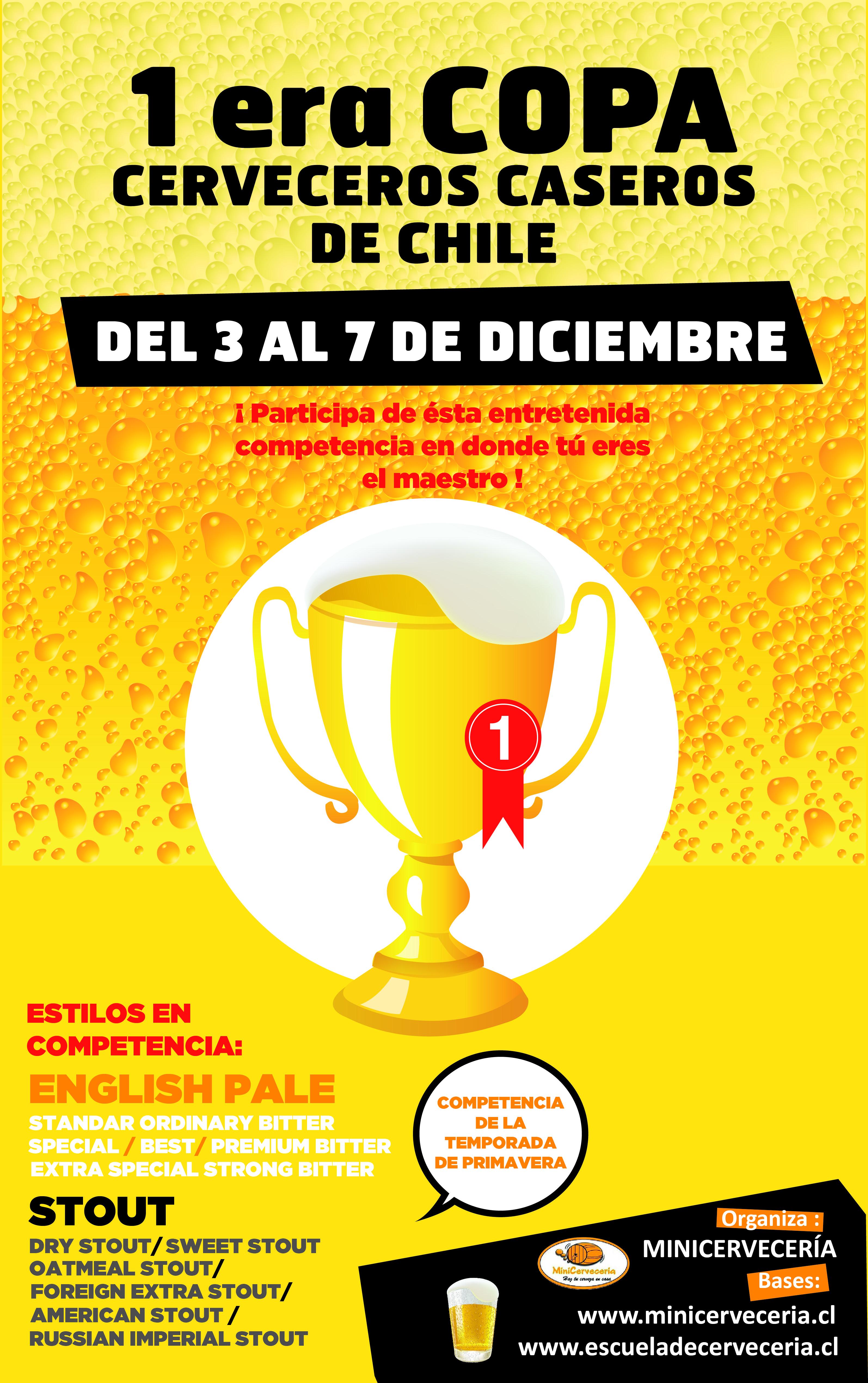 Afiche 1era Copa Cerveceros