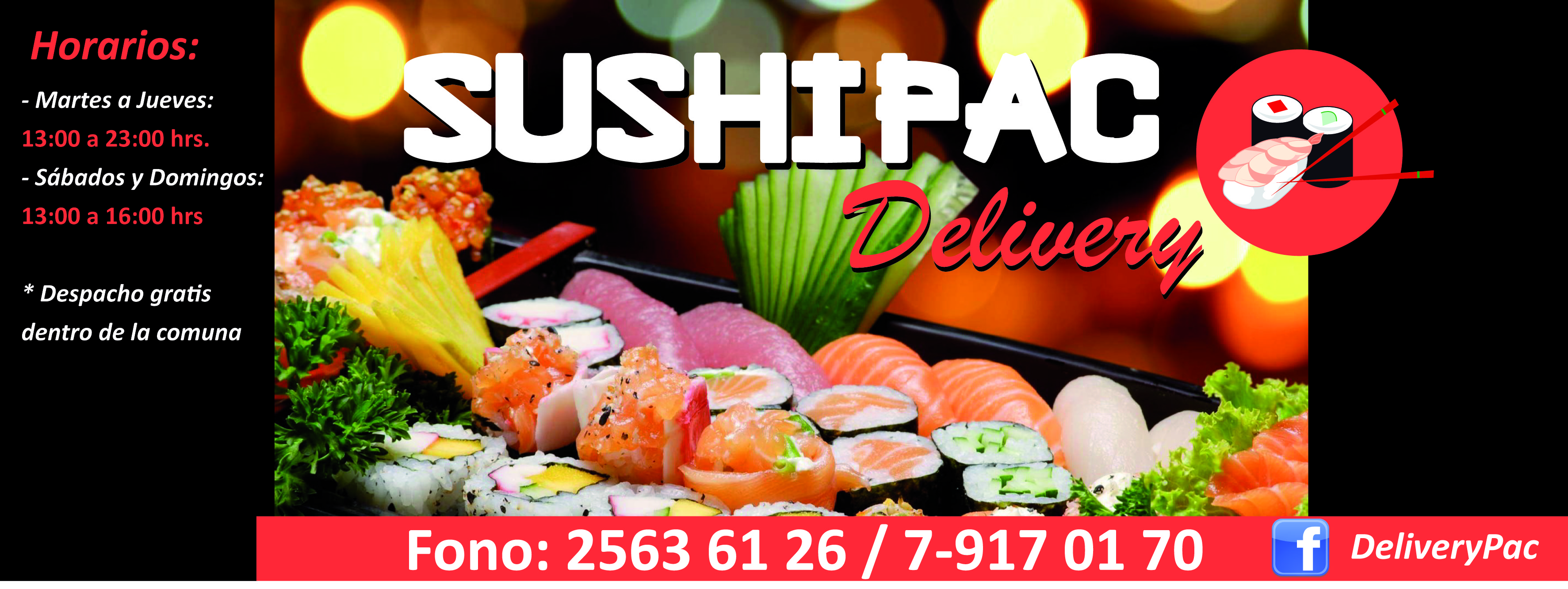 SushiPac Logo
