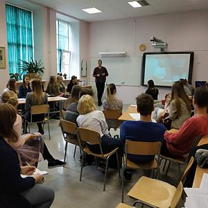 Debašu seminārs - meistardarbnīca Cēsu Valsts ģimnāzijā