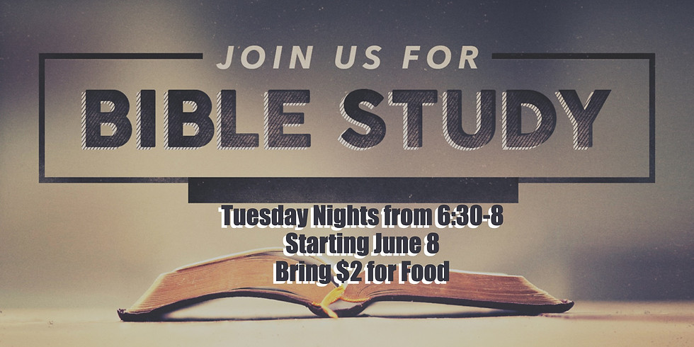 High School : Tuesday Night Bible Study