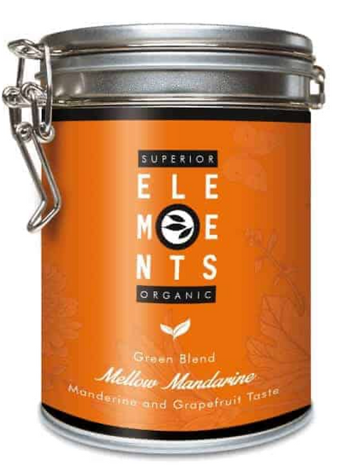 Herbata 'Soczysta Mandarynka' w puszce