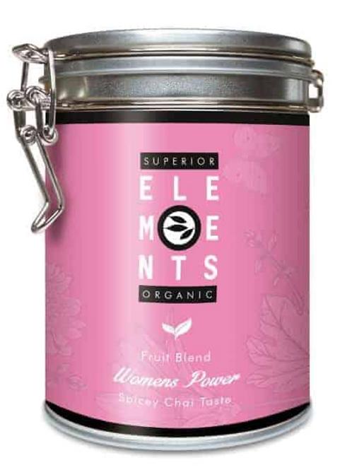 Herbata 'Kobieca Moc' w puszce