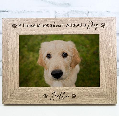 Personalised Dog Memorial Photo Frame