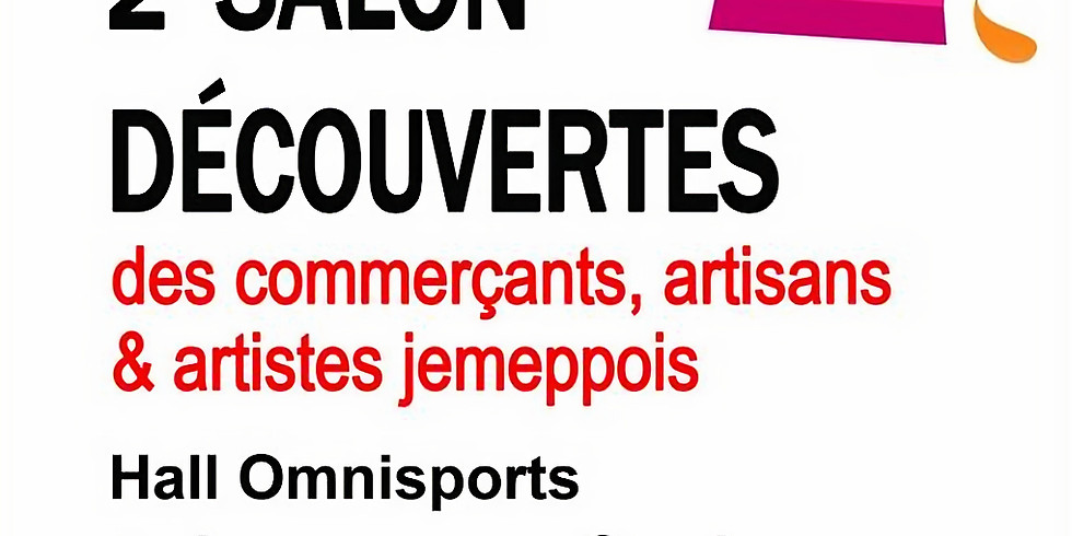 Salon découvertes des commerçants, artisans & artistes jemeppois