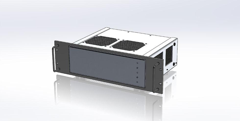3U Panel for Elecraft KPA1500 Power Supply