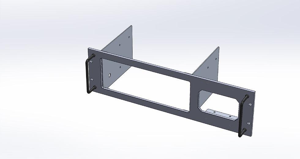 Rack Mount Panel for Kenwood TS-2000