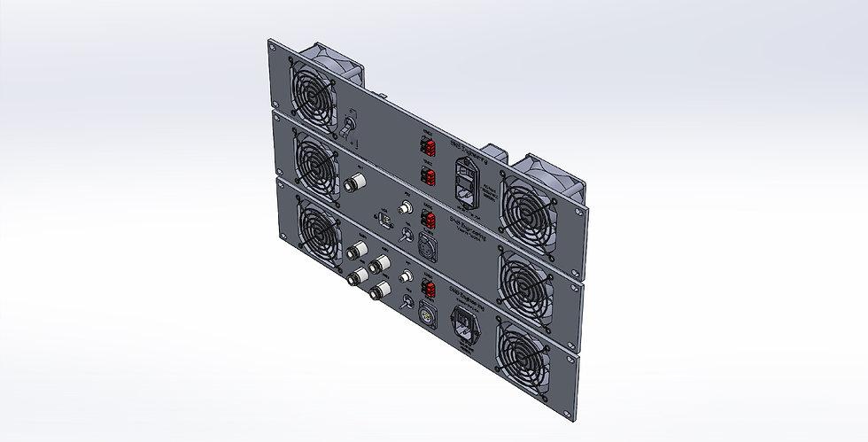 Custom Rack Mount Panels -2U - Three concepts