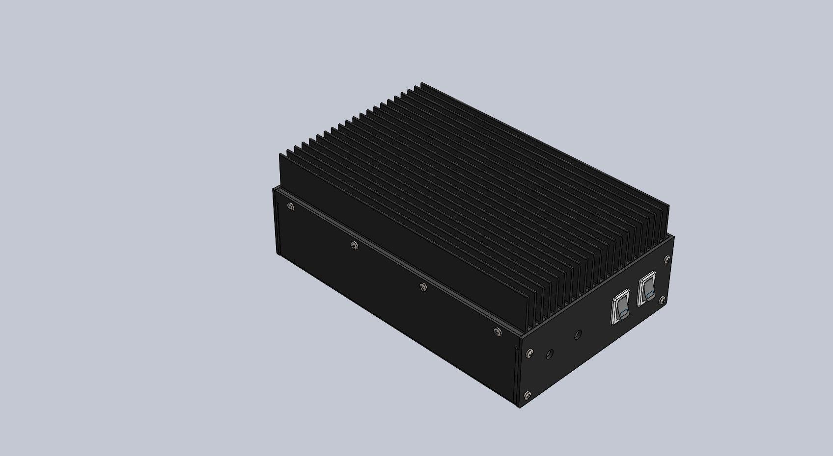 Chassis/Heatsink kit for 2m RF Amplifier