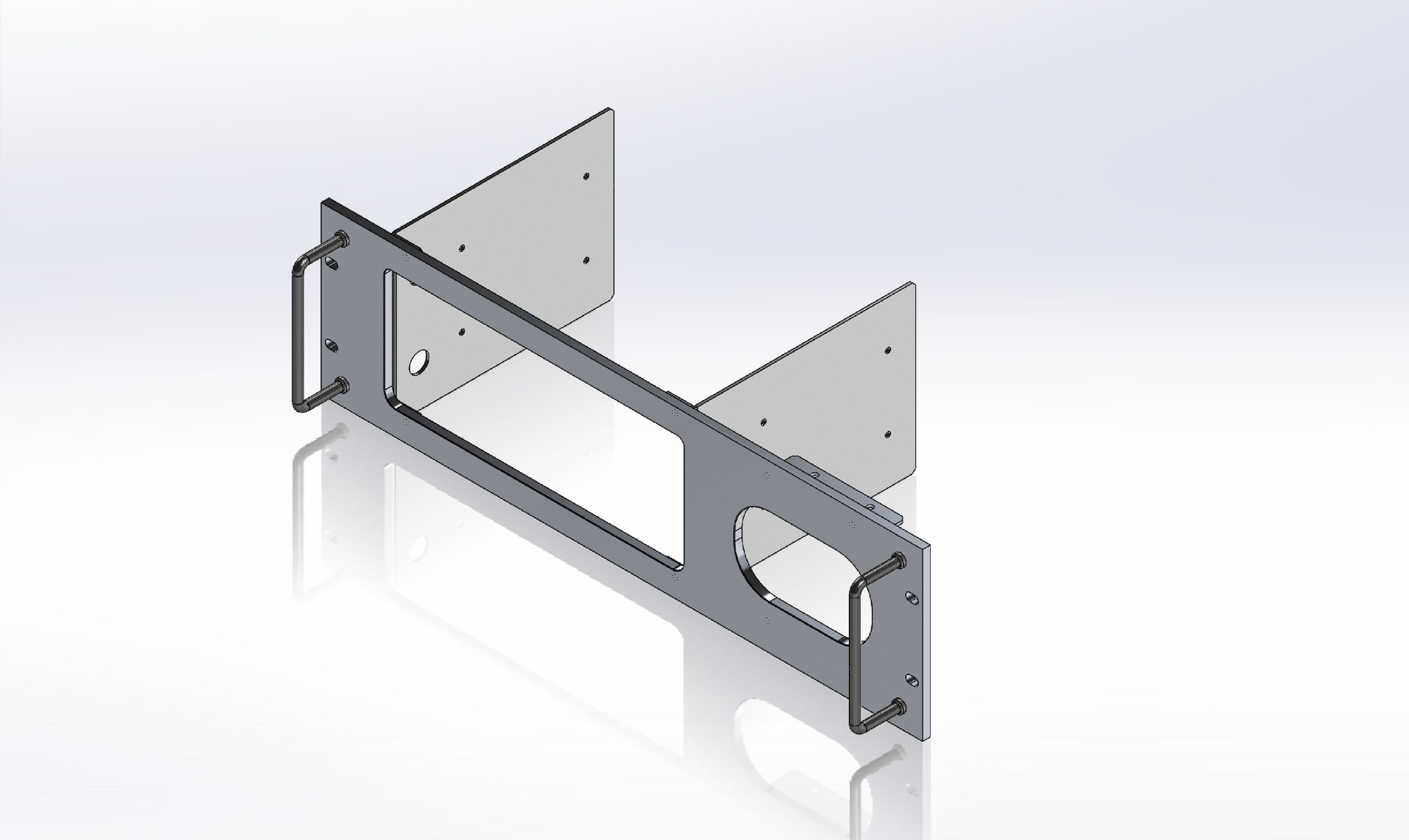 Rack Mount Panel for ICOM 7300/9700 | SNS Engineering