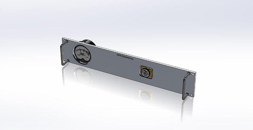2U Panel - RF Wattmeter - Single Meter