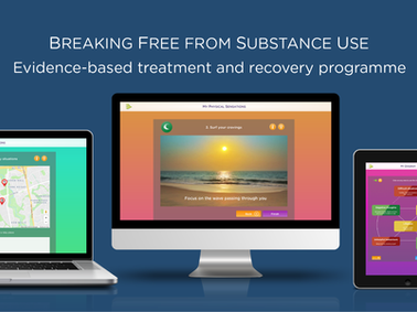 Online programme provides round the clock addiction recovery support for NHS APA members