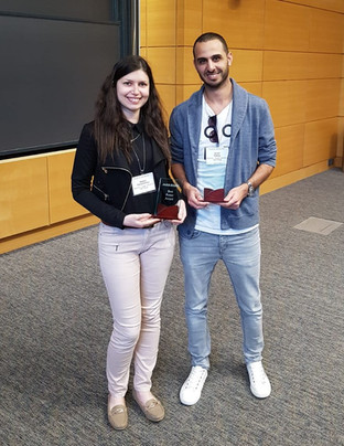 Israel and Nadya win two of the three best poster awards at ELKIN 2019!