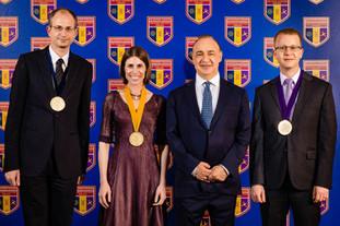 Moran receives the Blavatnik Award in a ceremony in Jerusalem