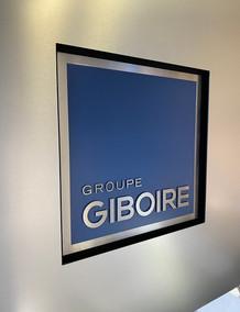 Ecran personnalisé pour le groupe Giboire