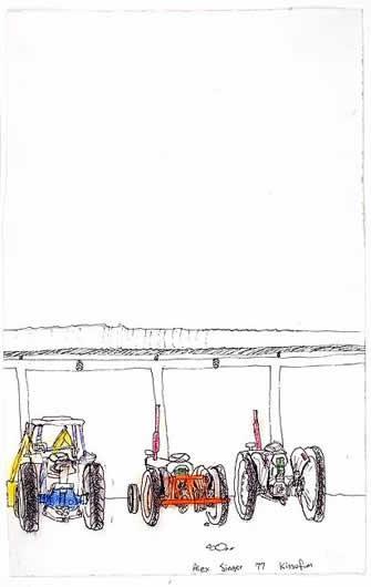 Kibbutz Kissufim Tractors, 1977