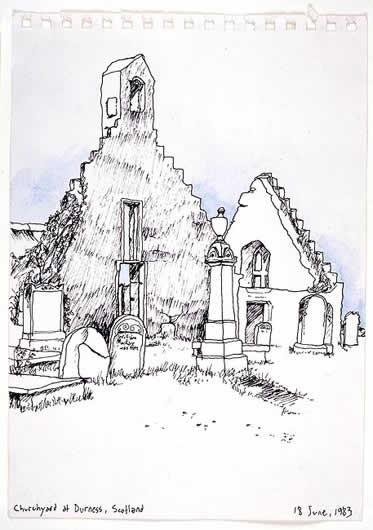 Churchyard at Durness, Scotland 1983