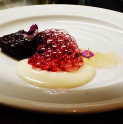 tamarillo - rice pudding
