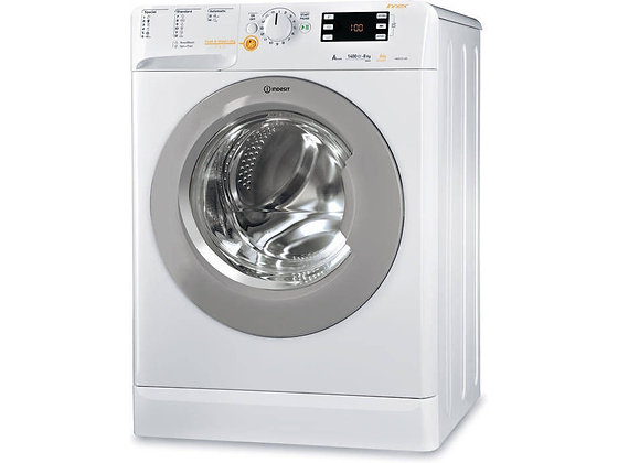 Máquina Lavar e Secar Roupa INDESIT Innex XWDE 861480 X