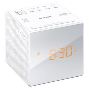 Rádio Despertador SONY ICF-C1W Branco