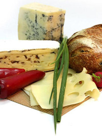 Into Cheeses platter?