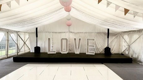 Sound Packages - Holme Valley Marquees.j