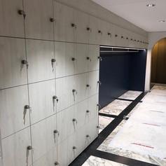 Locker kasten en garderobe MCB Nederland - ontwerp M+R interior architecture