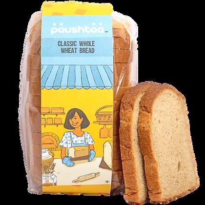 Classic Whole Wheat Sourdough Bread
