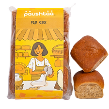 05. Paushtaa Whole Wheat Pav Buns (Extra