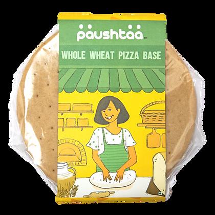 Whole Wheat Thin Crust Pizza Base