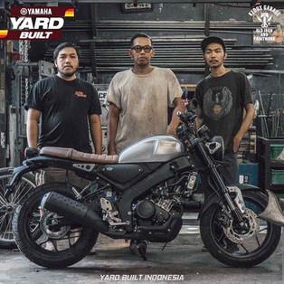 Yamaha XSR 155 Custom Kreasi 4 Builder Bali dalam Yard Built Indonesia 2021