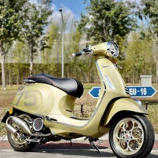 Vespa Primavera 75th Racing Style Edition Ini Satu-Satunya di Indonesia