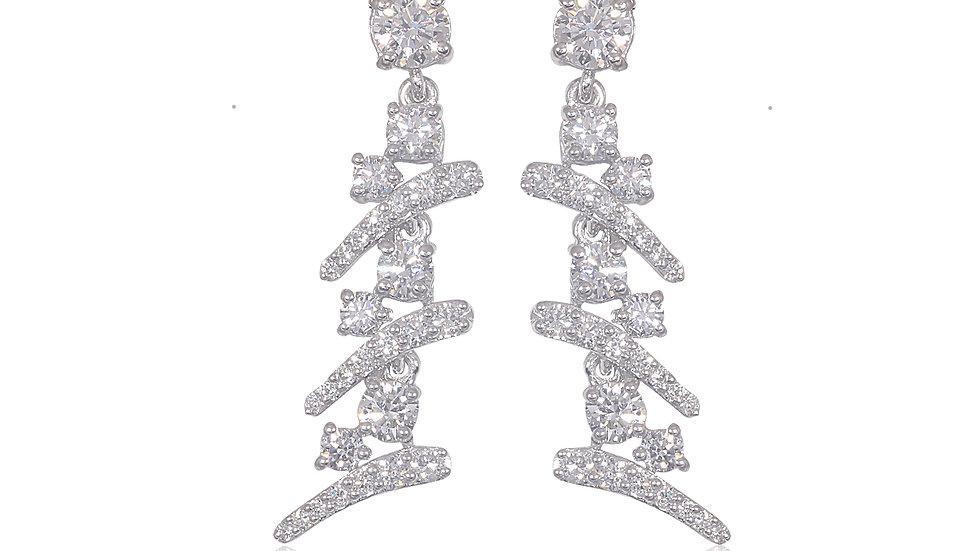 Dangling Diamond Earring