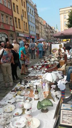 Swidnica monthly antique market