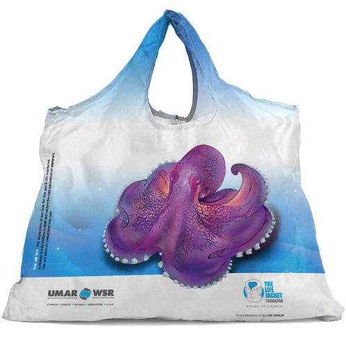 Octopus Design | Foldable Shopping Bag