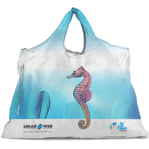 Seahorse Design | Foldable Shopping Bag